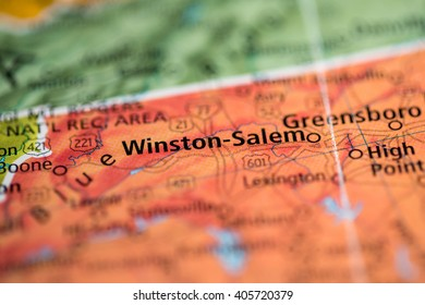 Winston-Salem. North Carolina. USA