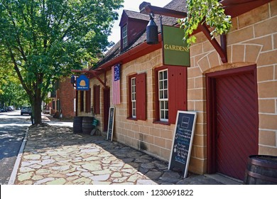 Winston-Salem, North Carolina, USA: Historic Old Salem Street view