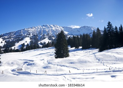 Winter in Allgau, Oberjoch and Bad Hindelang, Germany