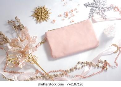 Winter Arrangement in Pink