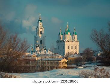 Winter Astrakhan Kremlin