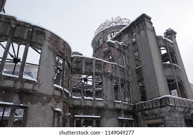 Winter of the atomic bomb dome