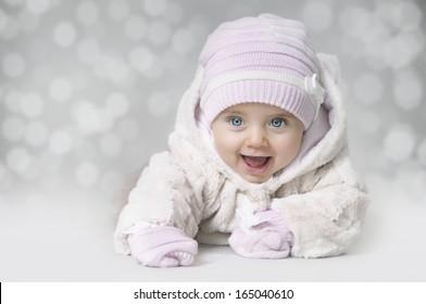 Winter baby girl