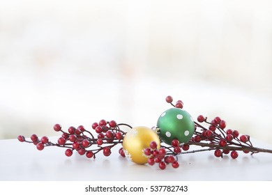 winter background, Christmas decorations