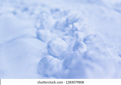 Winter Background Snow