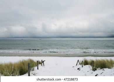 The Winter Beach