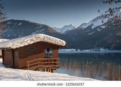Winter in Carinthia - Lake Weissensee, Austria