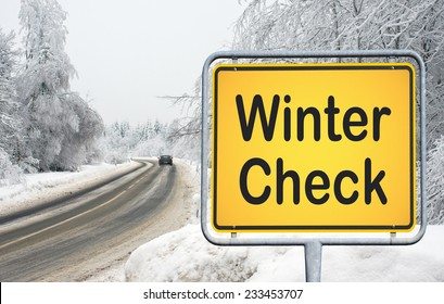 Winter Check - be prepared for winter and snow on street
