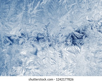 winter christmas background snowflakes ice abstract pattern