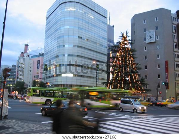 Winter Christmas in Tokyo, Japan