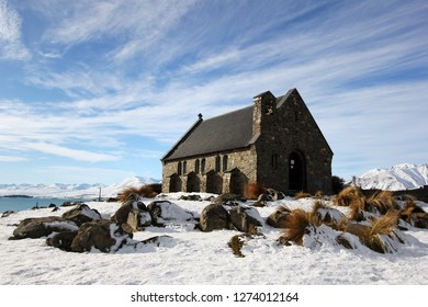 Winter at Church of the Good Shepherd, Lake Tekapo - New Zealand