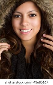 Winter Coat Girl