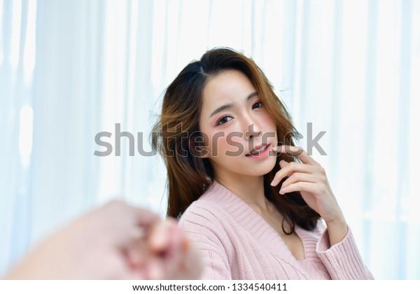 Junge und geile niedliche koreanische Mädchen