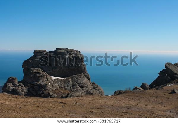 winter in the Crimea