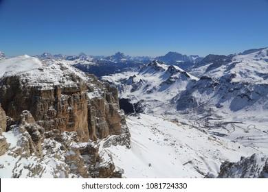 Winter in Dolomites, Italy