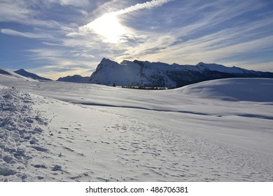 Winter in the Dolomites - Pale di San Martino
