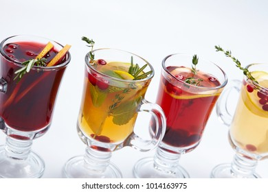 winter drink with fruits
