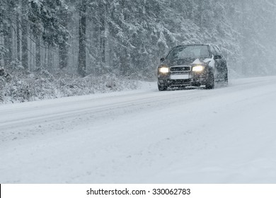 Winter Driving - risk of snow and ice