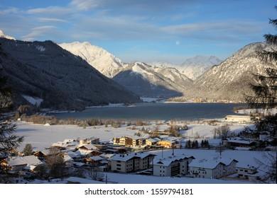winter at Eben at Achensee, Tyrol, Austria