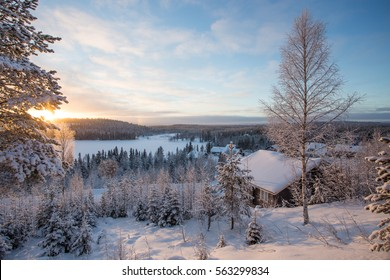 Winter Finland Lapland