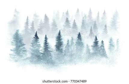 akvarel zima stock illustrations images vectors shutterstock akvarel zima stock illustrations