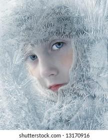 winter The girl