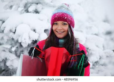 winter girl