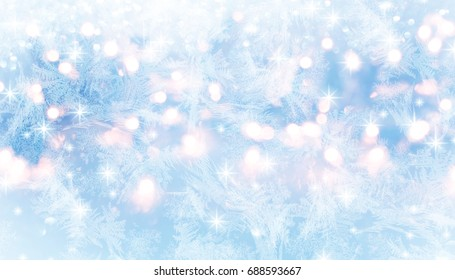 Winter holiday background.