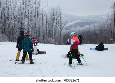 winter holidays on the slopes