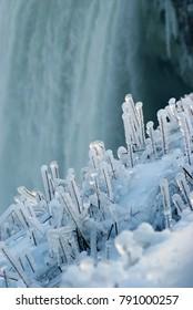 Winter Ice at Niagara Falls