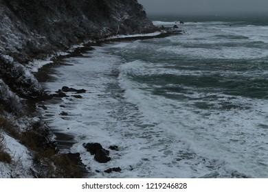 Winter Japan Sea