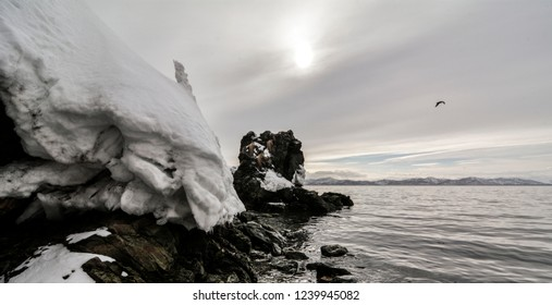winter Kamchatka landscapes