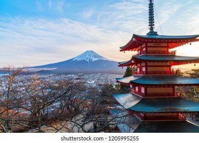 Winter of Kawaguchiko,Fuji Mountain,Japan