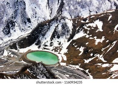 winter landscape in Georgia