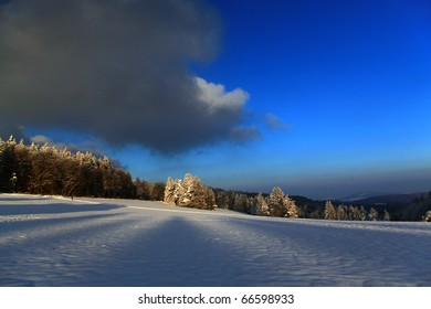 Winter Landscape Hagen Switzerland