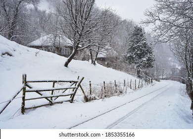 Winter landscape like in old times