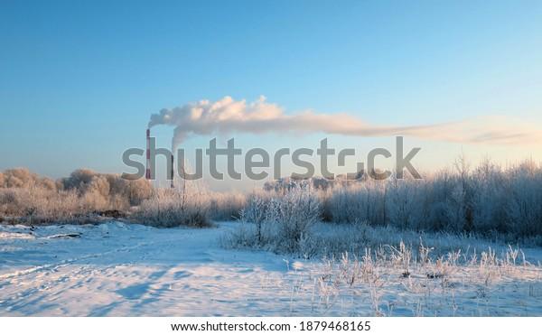 winter-landscape-pipes-smoke-trees-600w-