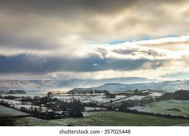Winter Landscape taken at Saddleworth in the Pennines.