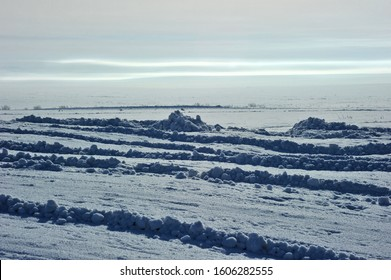 Winter landscapes of the Arctic