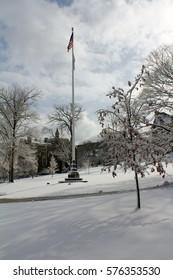 Winter in Lehigh, Bethlehem, Pennsylvania, USA