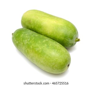 Winter melon fruits isolated on white background