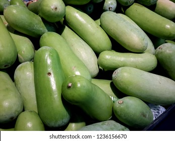 Winter melon, White gourd, Winter gourd or Ash gourd.