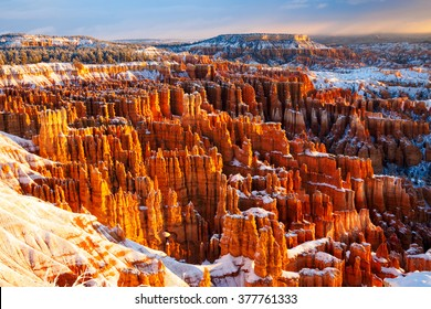winter morning / Bryce Canyon National Park, Utah, USA