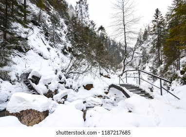 Winter in Mountains, Poland