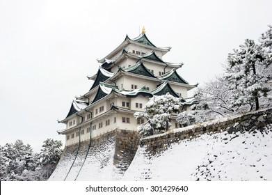 Winter of Nagoya Castle