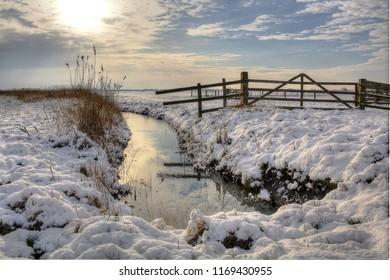 Winter in Nijkerk