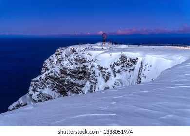 Winter North Cape, North of Norway