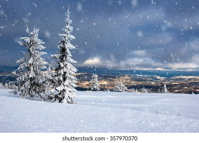 Winter in Norway - Lifjell Telemark