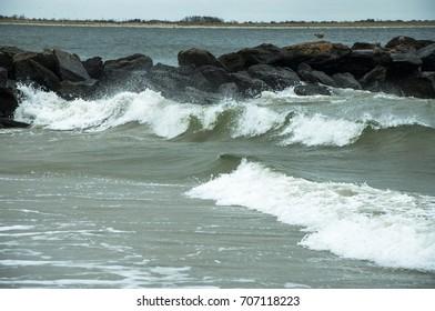 Winter ocean