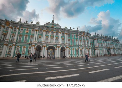 winter palace in the city of St. Petersburg. Russia. - Shutterstock ID 1771916975